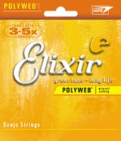 Elixir Polyweb Coated Banjo Strings Light 9-20 (11600)