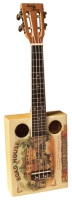 Eddy Finn Roadhouse Cigar Box Ukulele (EF-CGBX-1)