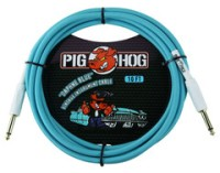 "Pig Hog ""Daphne Blue"" Vintage Instrument Cable -10' (PCH10DB)"