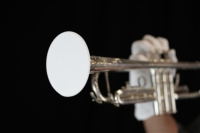 "Trumpet 5"" Bell Cover - White (TRUMPETCOVERW)"